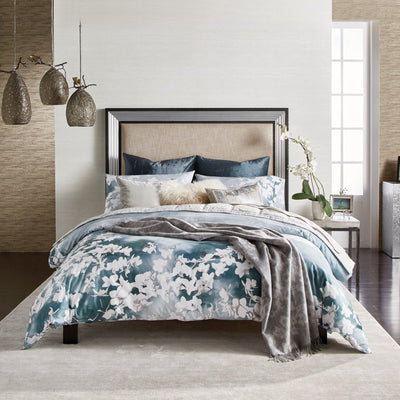 Orchid Sky Teal Duvet Cover [Luxury comforter Sets] [by Latest Bedding]