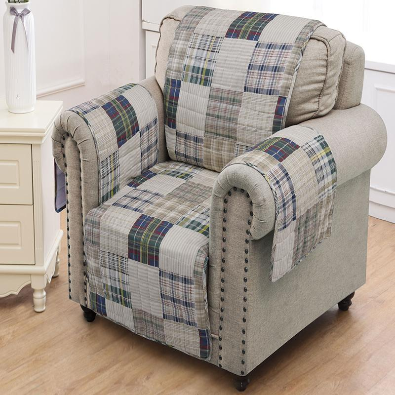 Slipcovers Oxford Multi Furniture Protector Arm Chair Latest Bedding