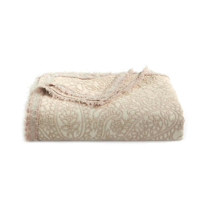 Paisley Mink Throw