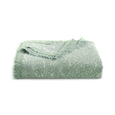 Paisley Sage Throw [Luxury comforter Sets] [by Latest Bedding]