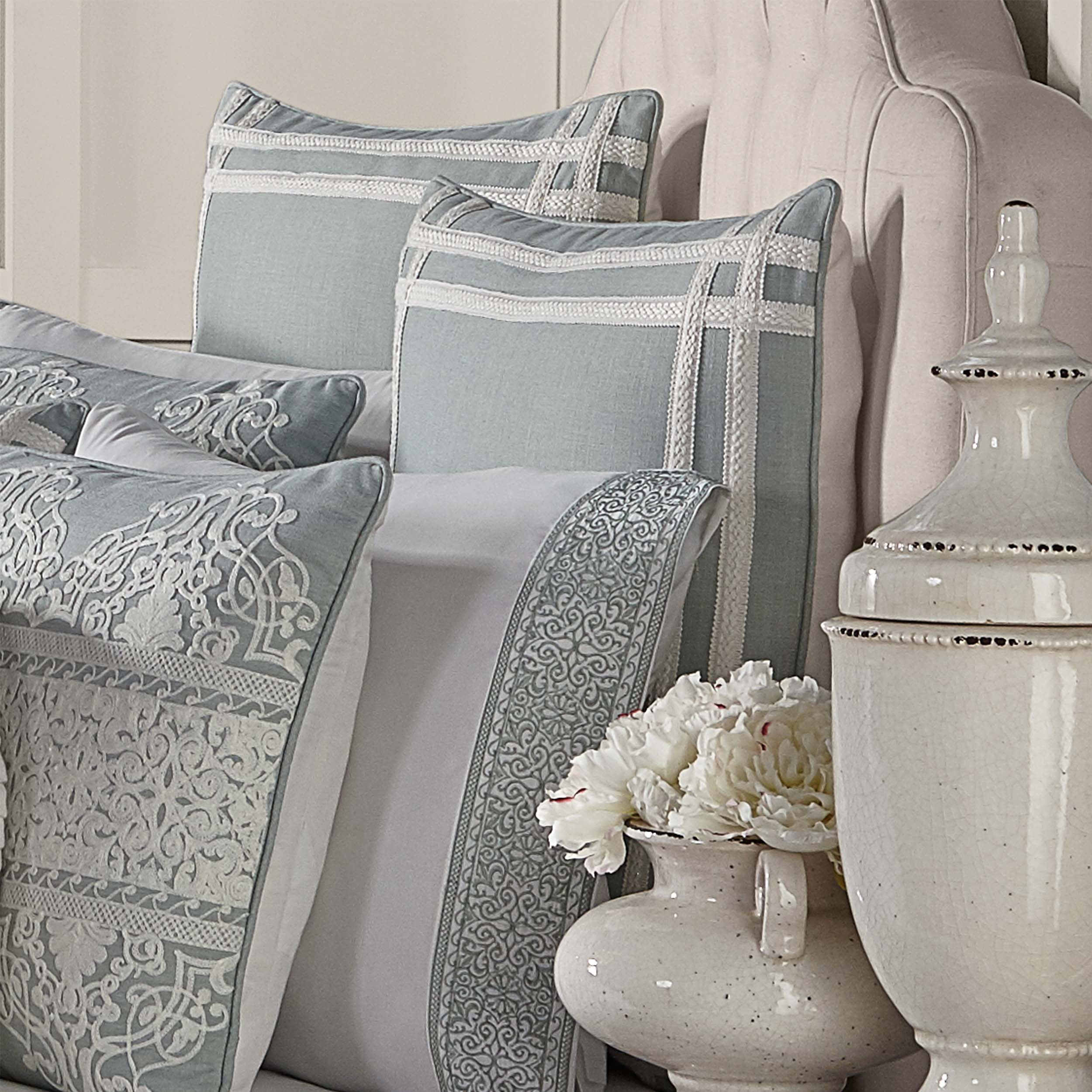 Patricia SPA Euro Sham [Luxury comforter Sets] [by Latest Bedding]
