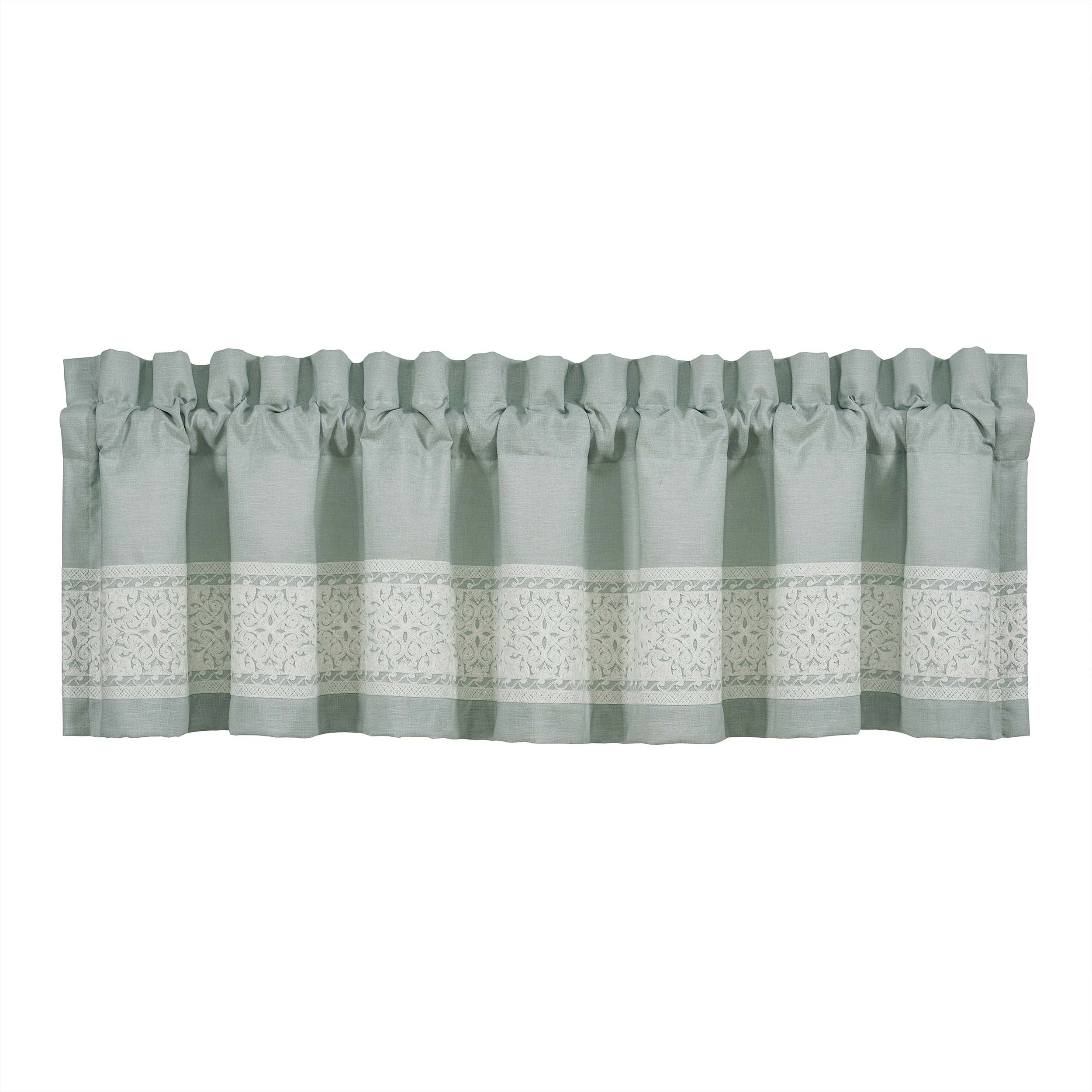 Patricia SPA Straight Window Valance Window Valance By J. Queen New York