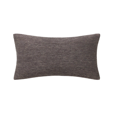 "Patrizia Mocha Decorative Throw Pillow 20"" x 11"" [Luxury comforter Sets] [by Latest Bedding]"