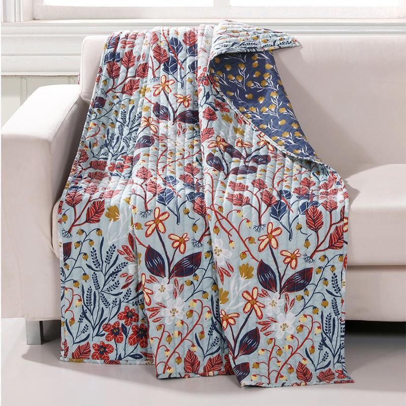 Perry Multi Throw [Luxury comforter Sets] [by Latest Bedding]