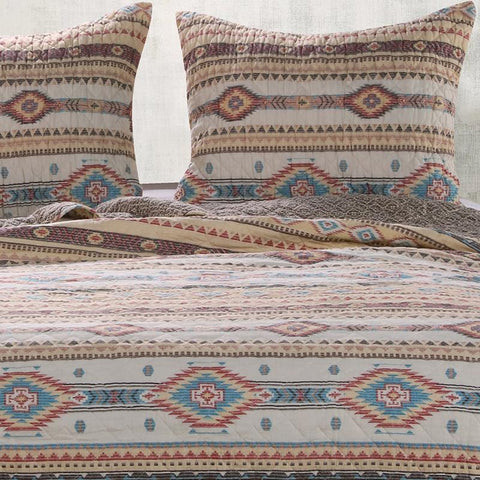 Quilt Sets Phoenix Tan 3-Piece Quilt Set Latest Bedding