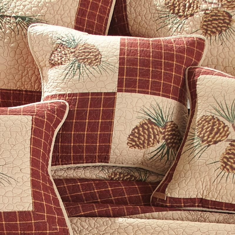 Pine Lodge Decorative Pillow [Luxury comforter Sets] [by Latest Bedding]