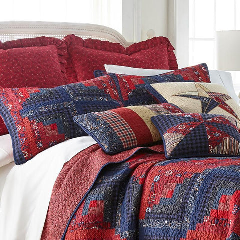 Plymouth 3-Piece Cotton Quilt Set [Luxury comforter Sets] [by Latest Bedding]