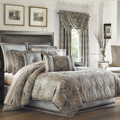 Provence Stone 4-Piece Comforter Set [Luxury comforter Sets] [by Latest Bedding]