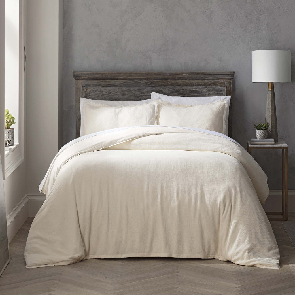 Reese Cream 3-Piece Duvet Set [Luxury comforter Sets] [by Latest Bedding]
