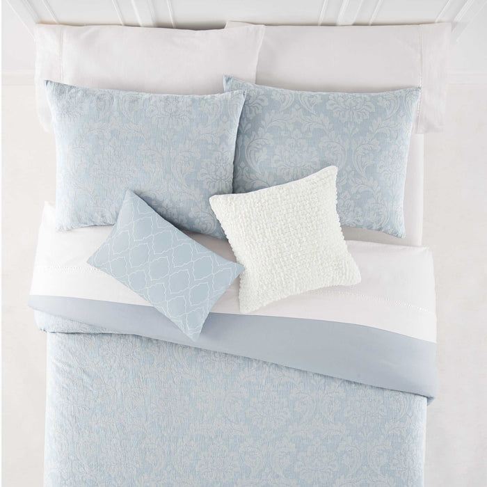 Riley Blue 5-Piece Comforter Set