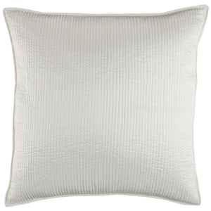 Retro Ivory Euro Pillow - Lili Alessandra [Luxury comforter Sets] [by Latest Bedding]
