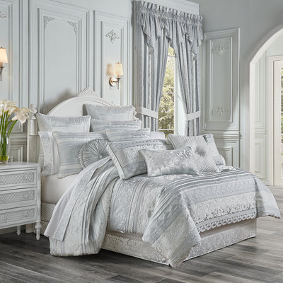 Riverside Spa 4-Piece Comforter Set [Luxury comforter Sets] [by Latest Bedding]