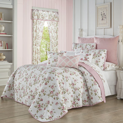 Rosemary Rose 3-Piece Quilt Set Quilt Sets By J. Queen New York