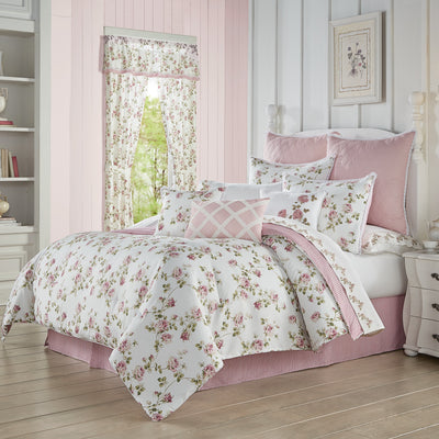 Rosemary Rose 4-Piece Comforter Set Comforter Sets By J. Queen New York