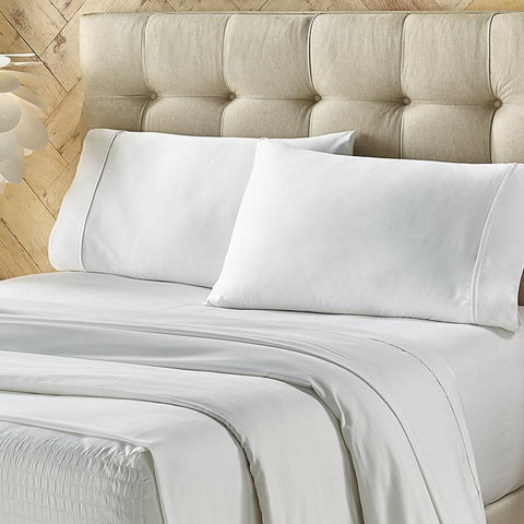 Royal Fit White 4-Piece Microfiber Sheet Set [Luxury comforter Sets] [by Latest Bedding]