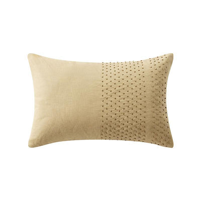 "Samara Neutral Decorative Pillow 18"" x 12"" [Luxury comforter Sets] [by Latest Bedding]"