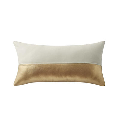 "Samara Neutral Decorative Pillow 20"" x 11"" [Luxury comforter Sets] [by Latest Bedding]"