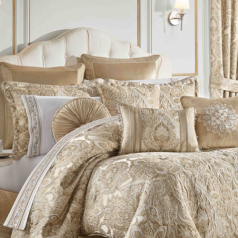 Sandstone Beige 4-Piece Comforter Set [Luxury comforter Sets] [by Latest Bedding]