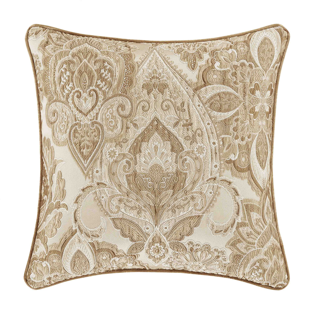"Sandstone Beige Square Decorative Throw Pillow 20"" x 20"" [Luxury comforter Sets] [by Latest Bedding]"