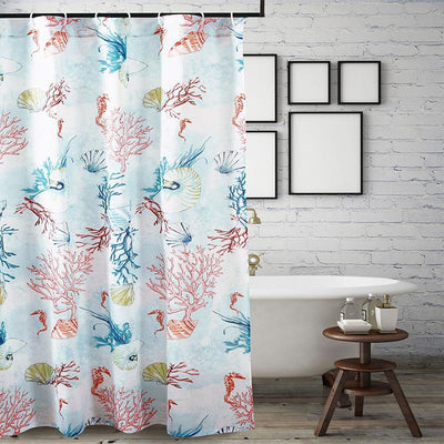Sarasota Multi Bath Shower Curtain [Luxury comforter Sets] [by Latest Bedding]