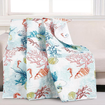 Sarasota Multi Throw [Luxury comforter Sets] [by Latest Bedding]