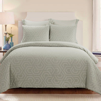 Seville Sage 3-Piece Comforter Set [Luxury comforter Sets] [by Latest Bedding]