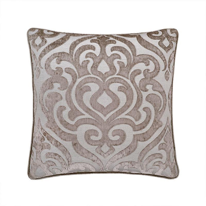 Sicily Pearl Square Decorative Throw Pillow