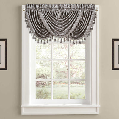 Sicily Pearl Waterfall Window Valance Window Valance By J. Queen New York