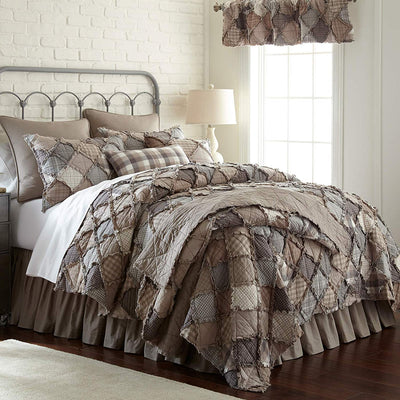 Smoky Mountain 3-Piece Quilt Set [Luxury comforter Sets] [by Latest Bedding]