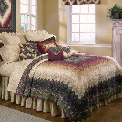 Spice Trip 3-Piece Quilt Set [Luxury comforter Sets] [by Latest Bedding]