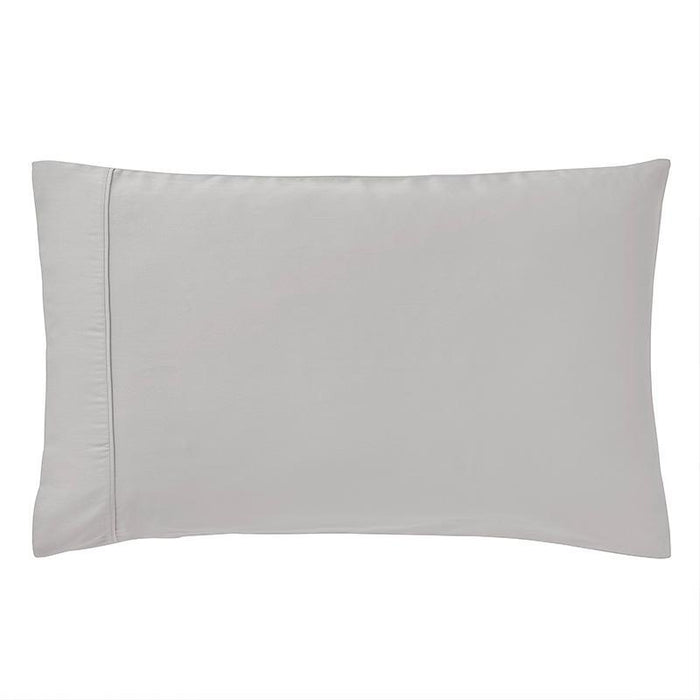 Sullivan Solid Dove 400 Thread Count 2-Piece Pillowcase Set