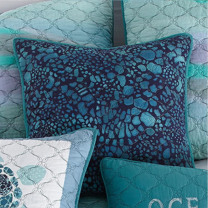 Summer Surf Ocean Decorative Pillow [Luxury comforter Sets] [by Latest Bedding]