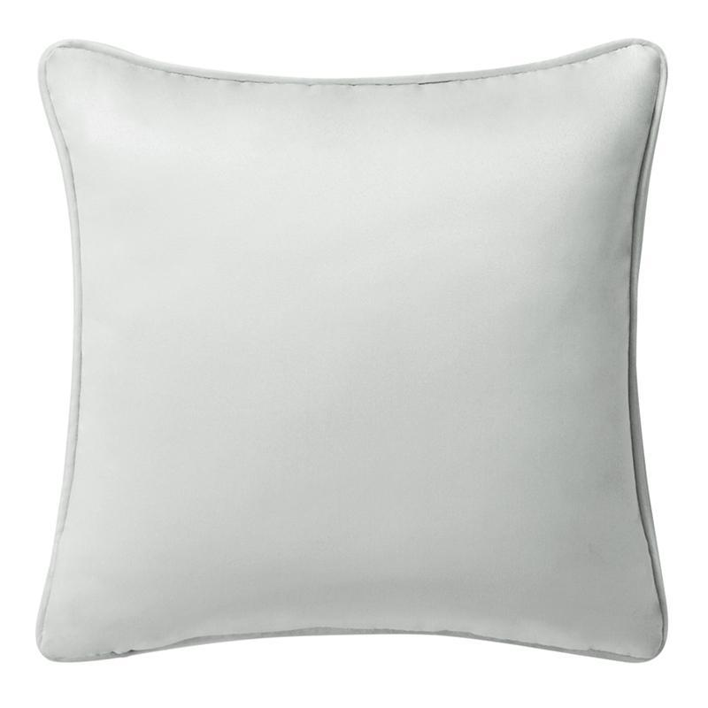 "Surrey Steel Decorative Pillow 16""W x 16""L Throw Pillows By Waterford"