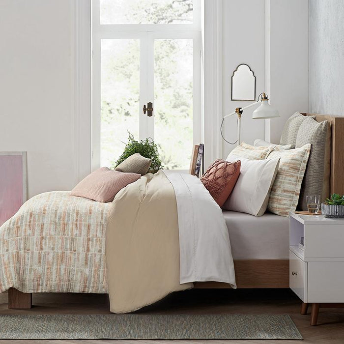 Terra Clay 3-Piece Comforter Set