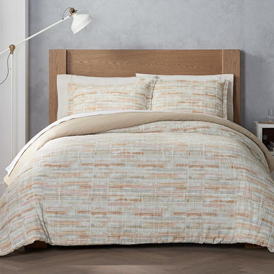 Terra Clay 3-Piece Duvet Set [Luxury comforter Sets] [by Latest Bedding]