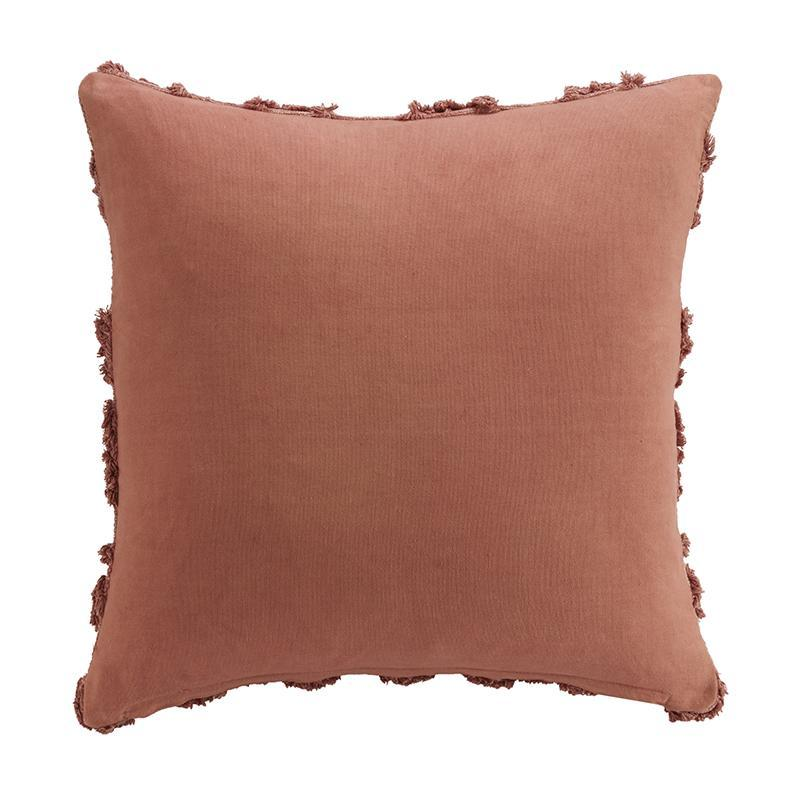"Terra Clay Decorative Throw Pillow 18"" x 18"" [Luxury comforter Sets] [by Latest Bedding]"