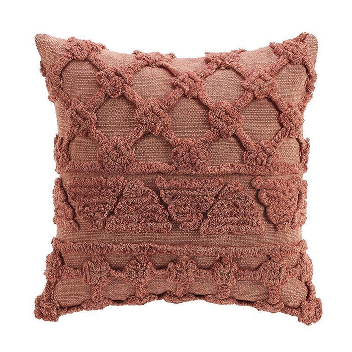"Terra Clay Decorative Throw Pillow 18"" x 18"""