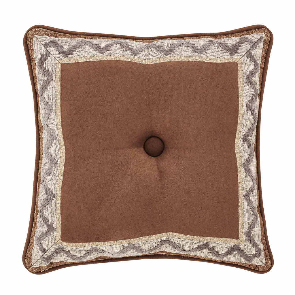 "Timber Linen Decorative Throw Pillow 18"" X 18"" [Luxury comforter Sets] [by Latest Bedding]"