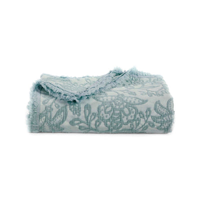 Toile Seaside Throw [Luxury comforter Sets] [by Latest Bedding]