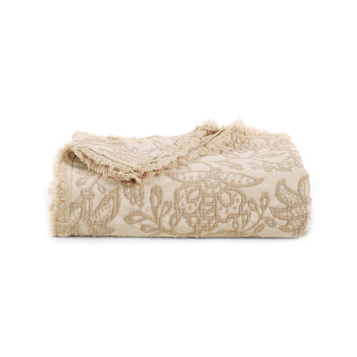 Toile Taupe Throw [Luxury comforter Sets] [by Latest Bedding]