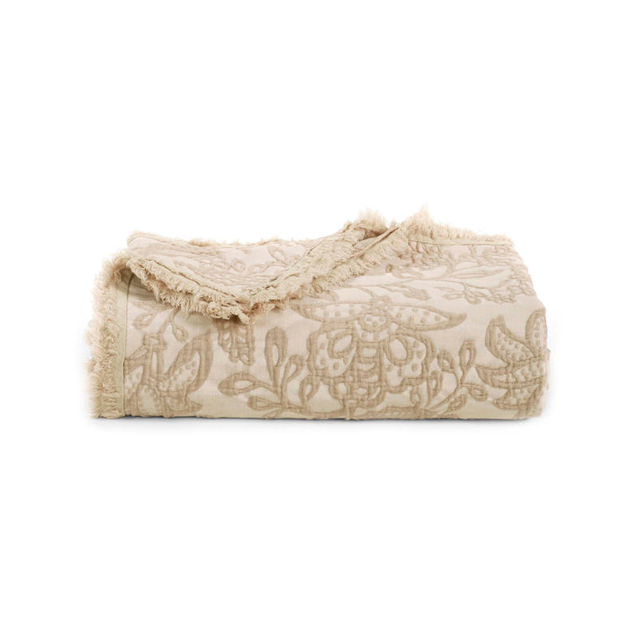 Toile Taupe Throw