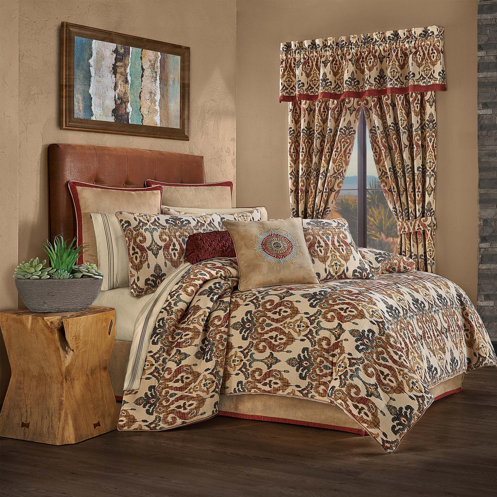 Tucson Multi 4-Piece Comforter Set [Luxury comforter Sets] [by Latest Bedding]