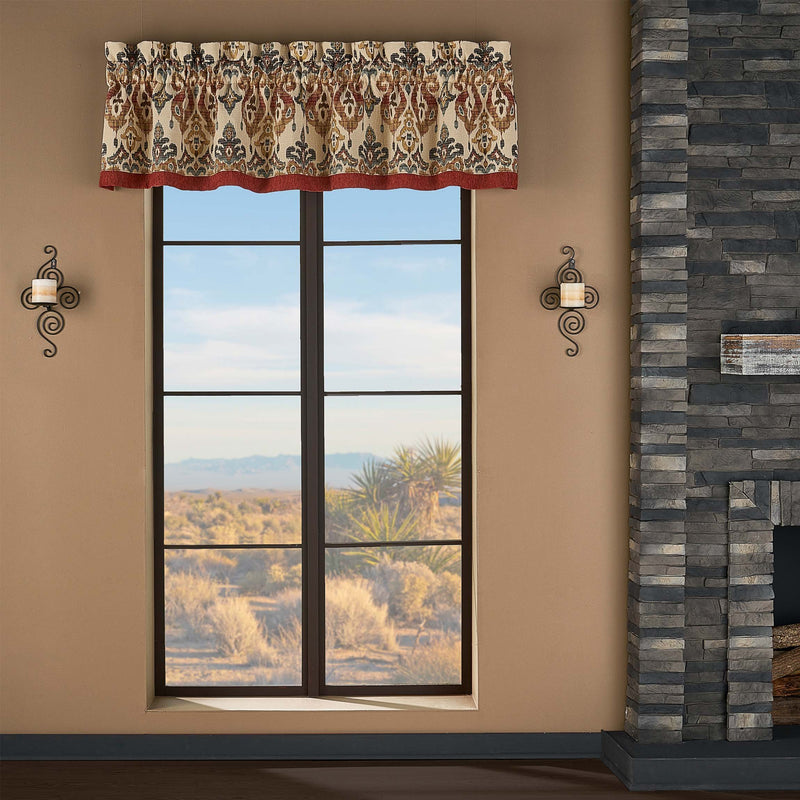 Tucson Multi Window Valance [Luxury comforter Sets] [by Latest Bedding]