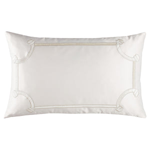 Vendome Ivory Boudoir Pillow - Lili Alessandra [Luxury comforter Sets] [by Latest Bedding]