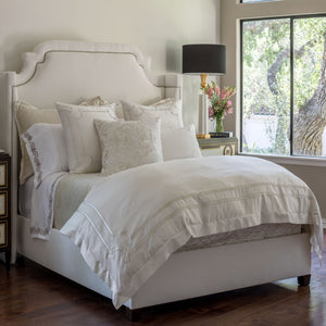 Vendome Ivory Duvet - Lili Alessandra [Luxury comforter Sets] [by Latest Bedding]