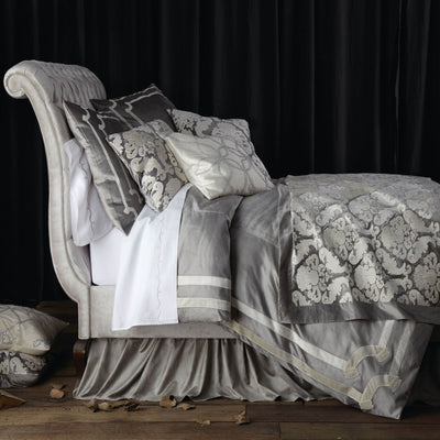 Versailles Silver Duvet - Lili Alessandra [Luxury comforter Sets] [by Latest Bedding]