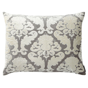 Versailles Silver Pillow - Lili Alessandra [Luxury comforter Sets] [by Latest Bedding]