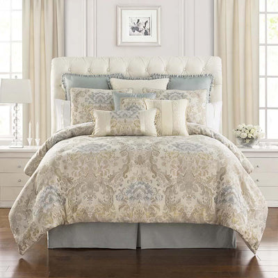Warren Multicolor 4-Piece Comforter Set Comforter Sets By Waterford
