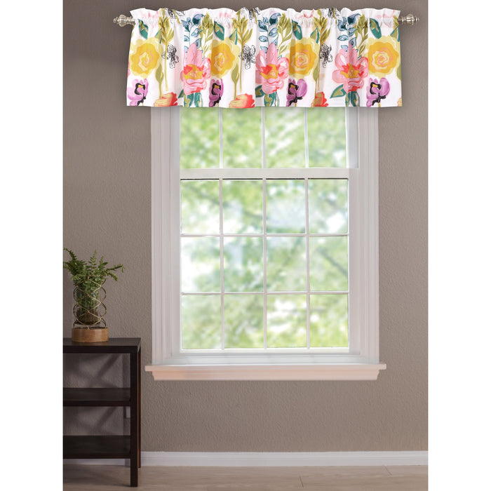 Watercolor Dream Multi Window Valance