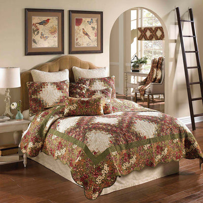 Watercolor Irish Chain 3-Piece Quilt Set Quilt Sets By Donna Sharp
